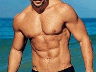 Joe Manganiello facial hair