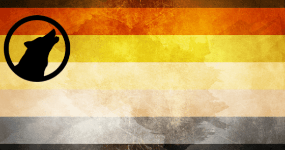 gay wolf wolves flag