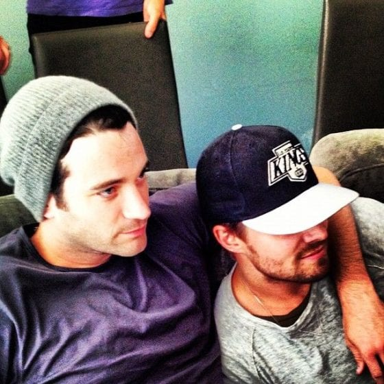 colin donnell stephen amell couch looking cute and gay