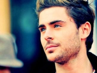 zac efron blue eyes facial hair
