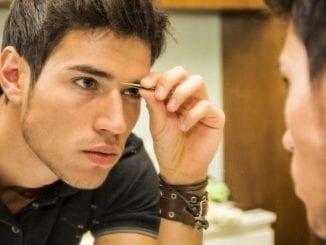 male model skin care