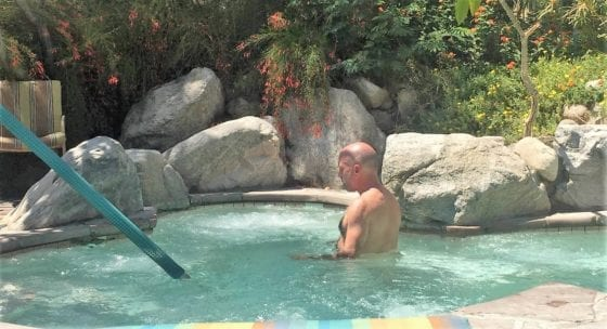 shit in our jacuzzi