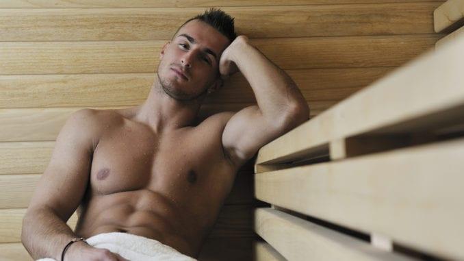 gay sauna man