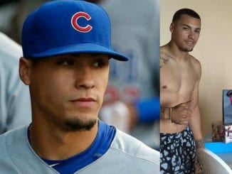 javier baez shirtless sexy