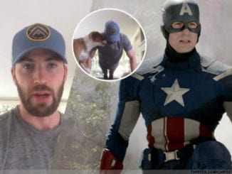 Chris Evans Pushups