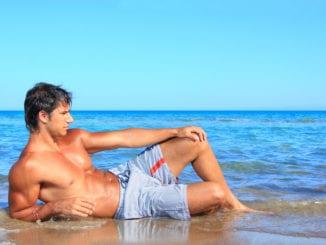 virgo man beach