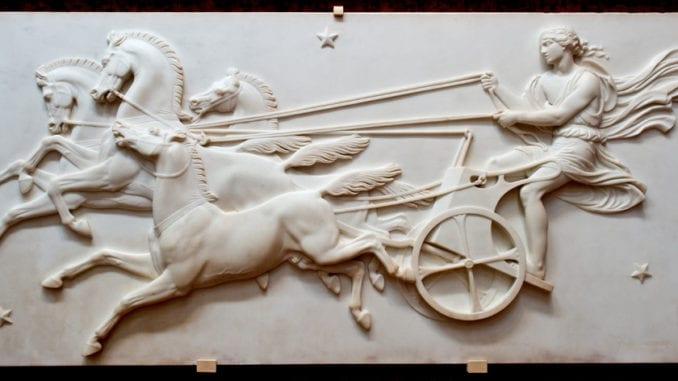 greek mythology Phaeton Driving Sun Chariot