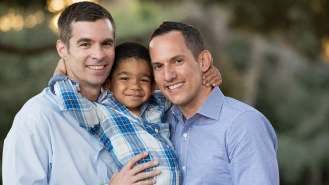 same-sex marriage gay couple children