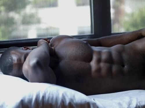 hot black guy shirtless