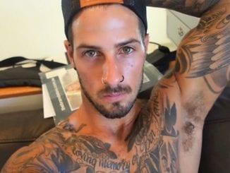 facial hair tattoo