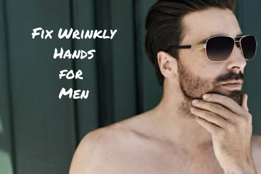 dry hands, wrinkled hands treatment