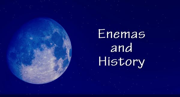 male enema history