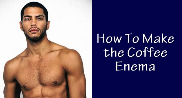 coffee enemas how to make guide