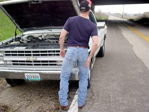 sexy man butt jeans