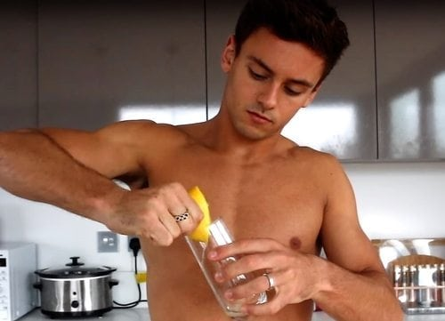 tom daley shirtless sexy