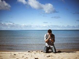 gay man praying
