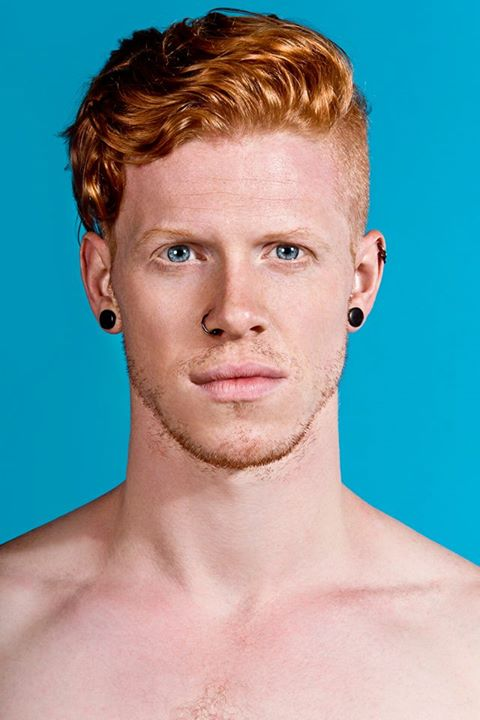 ginger guy eyes