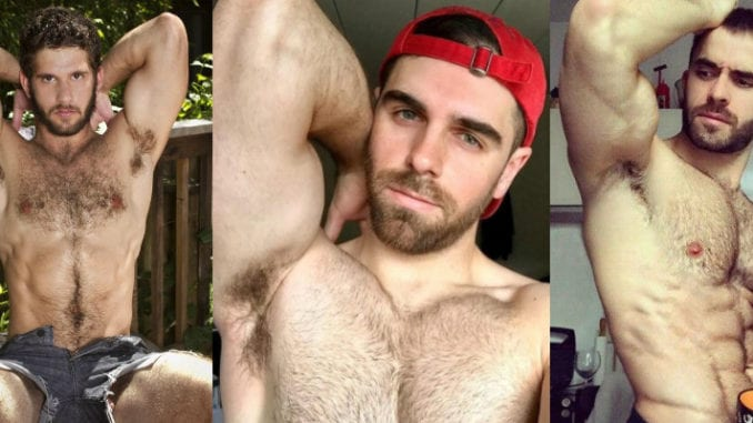 gay men smell body odor armpit
