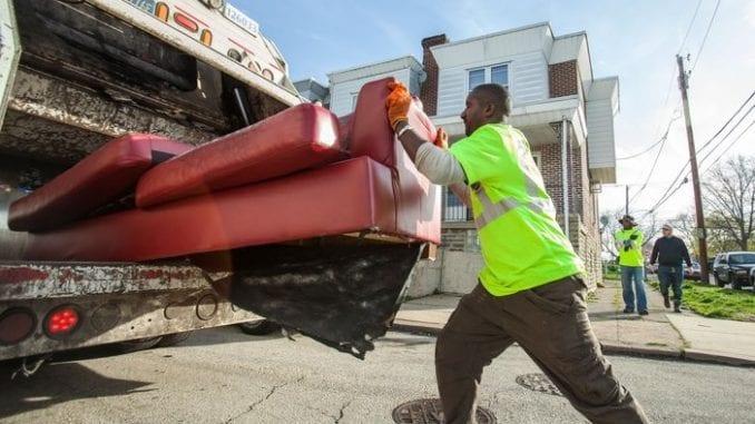 sanitation worker garbage man