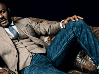 Idris Elba has great cocktail attire on