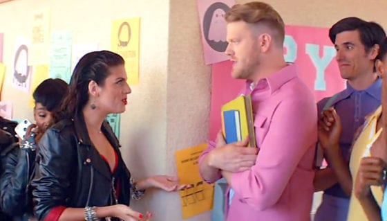 "Frankie and Pentatonix' Scott Hoying in musical homage to GREASE - ""Ghost"""