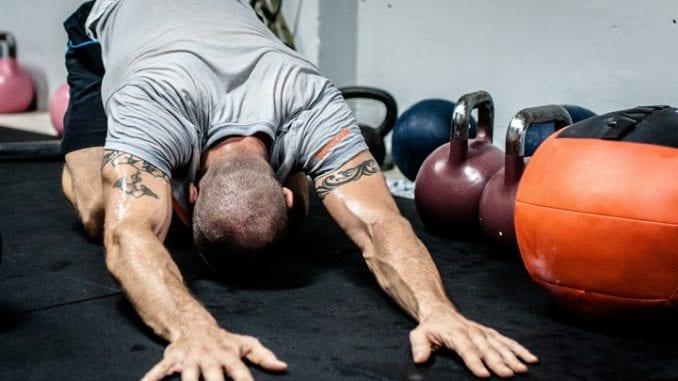 stretch athlete