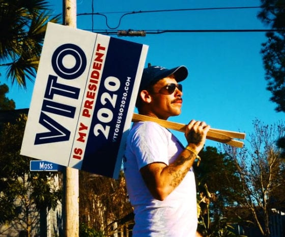 The web series imagines LGBT hero Vito Russo running for president