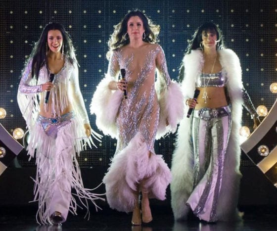The three stars of The Cher Show