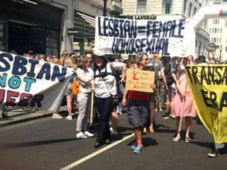 Anti-transgender protesters disrupt London Pride parade