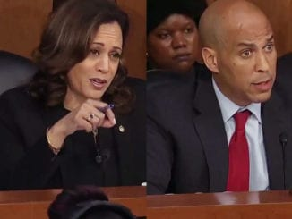 Sen. Kamala Harris and Sen. Cory Booker tried to get answers from Judge Brett Kavanaugh on marriage equality to no avail