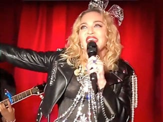 Madonna surprised the crowd at the iconic Stonewall Inn on New Year's Eve