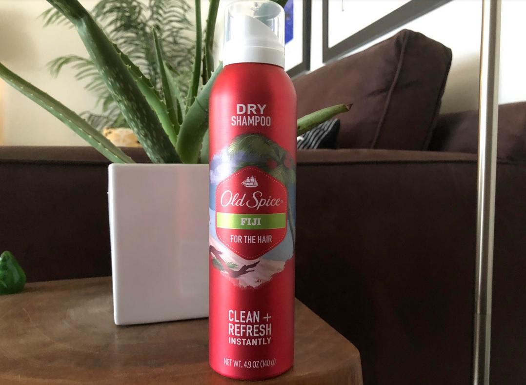 old spice dry shampoo