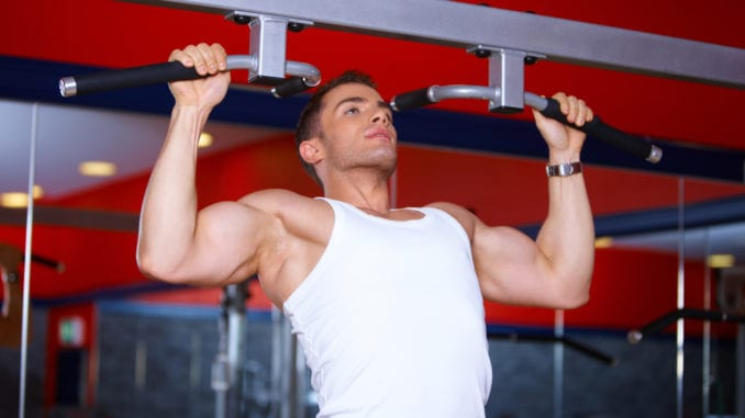 attracted to a bodybuilder
