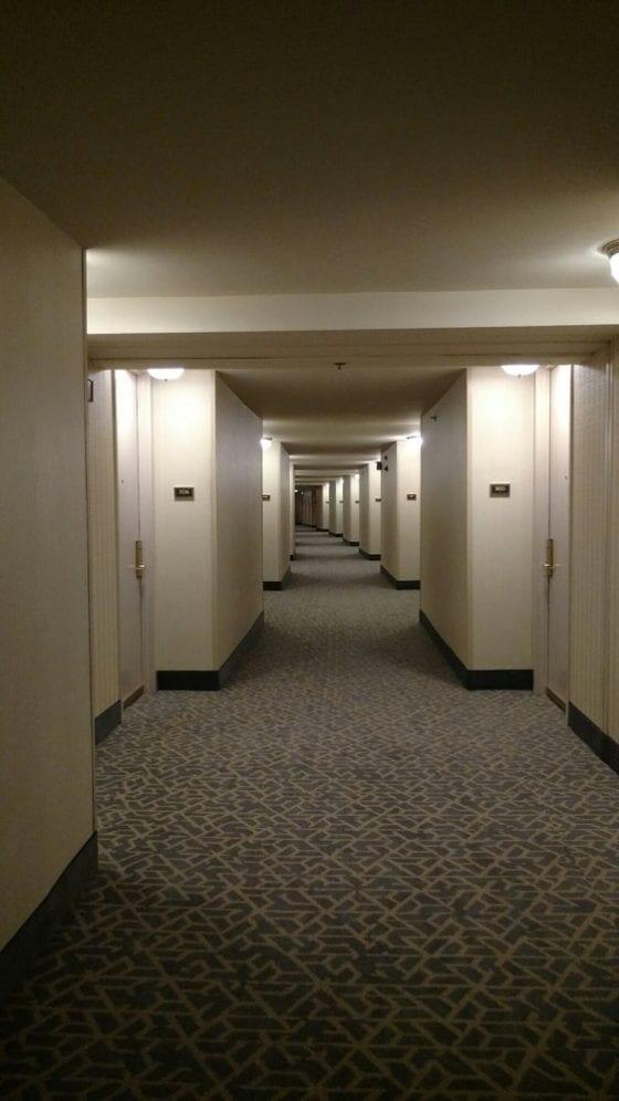 hallways ohare hilton