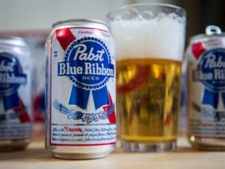 PBR beer whiskey