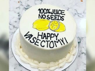 vasectomy cake