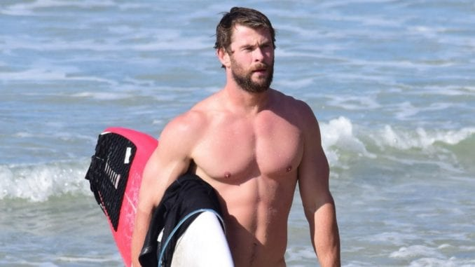 arms like chris hemsworth