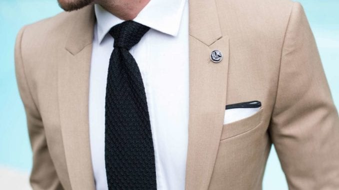 men's khaki suit ideas