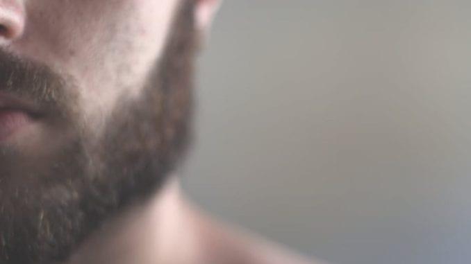 masculine beard