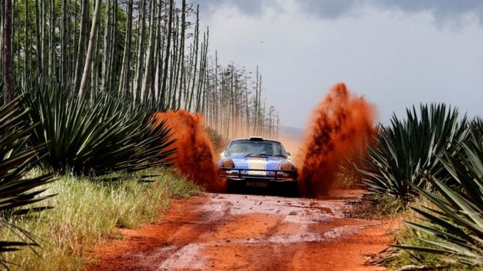 car dirt road