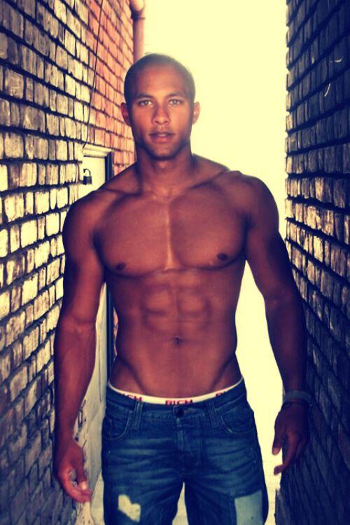 built black male alley