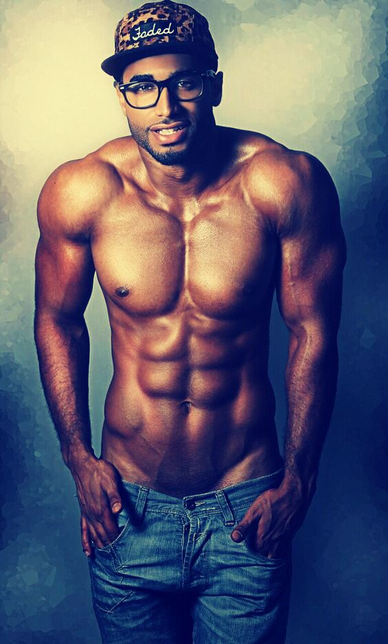 hot black guy model